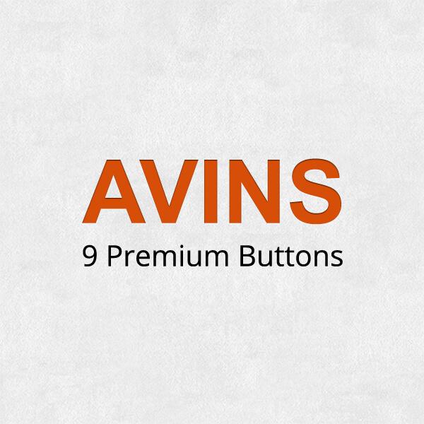 Premium buttons Avins