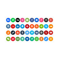 social-rounded-buttons