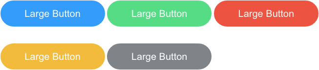Large Outlined Buttons