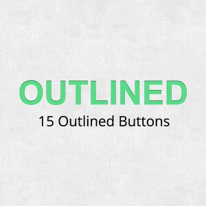 Outlined buttons